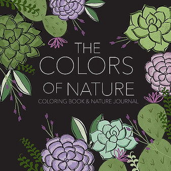 Leisure Arts The Colors Of Nature Coloring Book