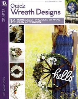 Leisure Arts Quick Wreath Designs Book