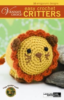 Leisure Arts Easy Crochet Critters Book