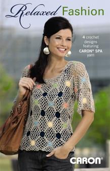 Leisure Arts Crochet Relaxed Fashion 4 Crochet Designs Book