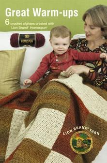 Leisure Arts Lion Brand Yarn Great Warm Ups Crochet Book