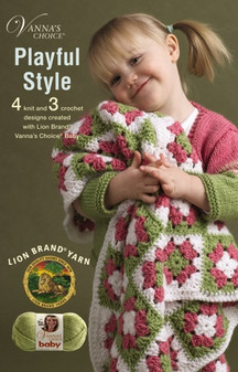 Leisure Arts Vanna's Choice Playful Style Crochet Book