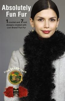 Leisure Arts Lion Brand Yarn Absolutely Fun Fur Knit Book