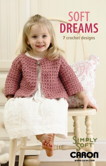 Leisure Arts Soft Dreams 7 Crochet Designs Book