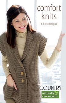 Leisure Arts Caron Comfort Knits Book