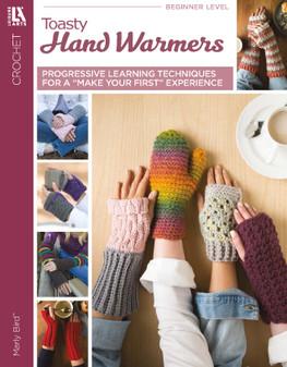 Leisure Arts Toasty Hand Warmers Crochet Book