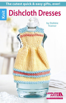 Leisure Arts Dishcloth Dresses Book