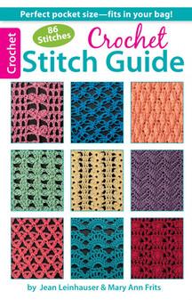 Leisure Arts Crochet Stitch Guide Book