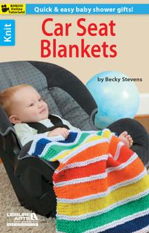 Leisure Arts Car Seat Blankets Book