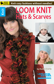 Leisure Arts Loom Knit Hats & Scarves Book