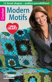 Leisure Arts Modern Motifs Crochet Book