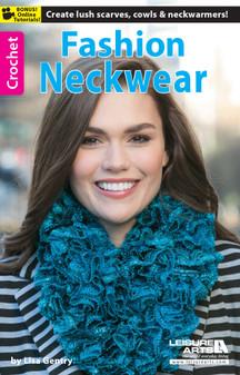 Leisure Arts Fashion Neckwear Crochet Book