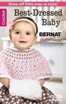 Leisure Arts Crochet Best Dressed Baby Book