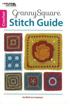 Leisure Arts Granny Square Stitch Guide Book