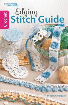 Leisure Arts Crochet Edging Stitch Guide Book