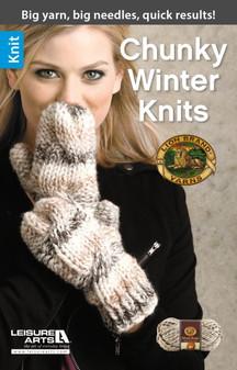 Leisure Arts Chunky Winter Knits Book