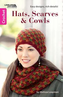 Leisure Arts Hats, Scarves & Cowls Crochet Book