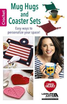 Leisure Arts Mug Hugs And Coaster Sets Crochet Book