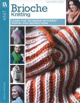 Leisure Arts Brioche Knitting Book