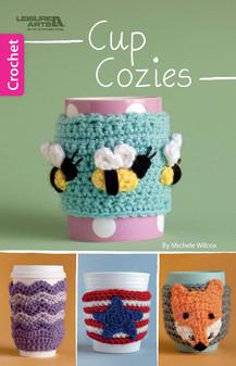 Leisure Arts Cup Cozies Crochet Book