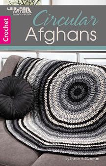 Leisure Arts Circular Afghans Crochet Book