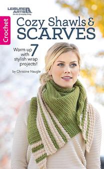 Leisure Arts Cozy Shawls & Scarves Book
