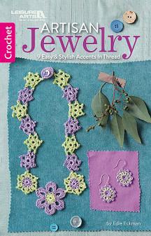 Leisure Arts Artisan Jewelry Crochet Book