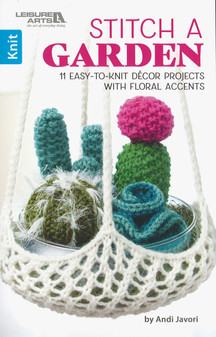 Leisure Arts Stitch A Garden Book