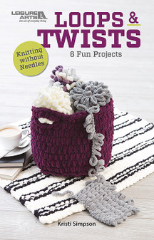 Leisure Arts Loops & Twists Knit Book