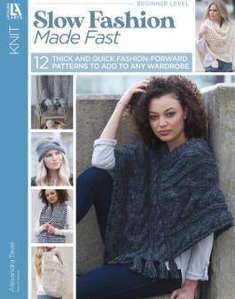 Leisure Arts Slow Fashion Made Fast Knit Book