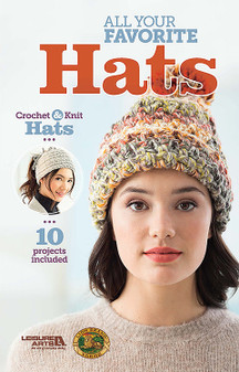 Leisure Arts All Your Favorite Hats Crochet Book