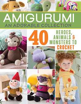 Leisure Arts Amigurumi An Adorable Collection Crochet Book
