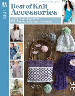 Leisure Arts Best Of Knit Accessories Book