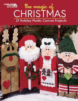 Leisure Arts The Magic Of Christmas Plastic Canvas Book