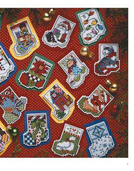 Leisure Arts Mini Cross Stitch Ornaments Book