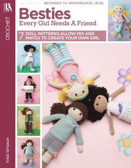 Leisure Arts Crochet Besties Every Girl Needs A Friend Book