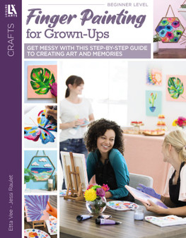 Leisure Arts Finger Painting For Grown-Ups Book