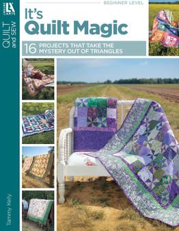 Leisure Arts It's Quilt Magic Book