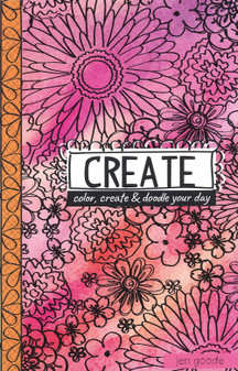 Leisure Arts Doodle Pages Create Coloring Book