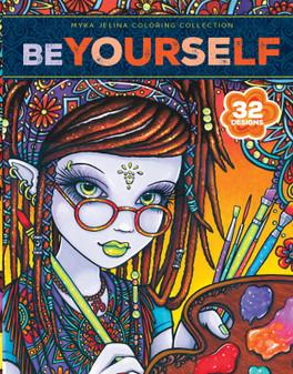 Leisure Arts Myka Jelina Be Yourself 32 DsgnsClrBk