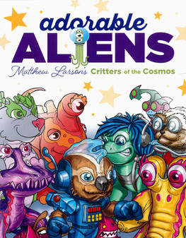 Leisure Arts Adorable Aliens Coloring Book