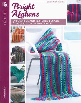 Leisure Arts Bright Afghans Crochet Book