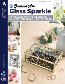 Leisure Arts Diamond Dotting Glass Sparkle Book