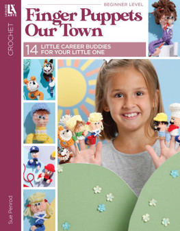 Leisure Arts Finger Puppets Our Town Book