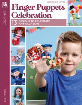 Leisure Arts Finger Puppets Celebration Book