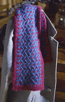 ePattern Cable Knit Scarf