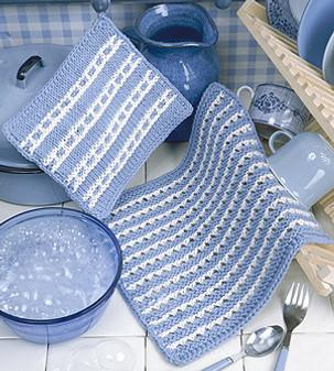 ePattern Knit Dishcloth & Pot Holder Patterns