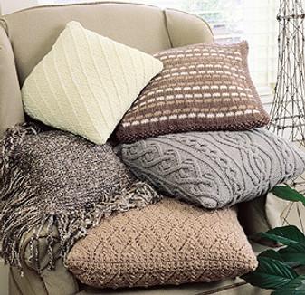 ePattern Classic Knit Pillows