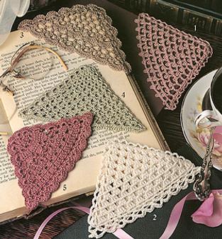 ePattern Crochet Corner Bookmark Patterns