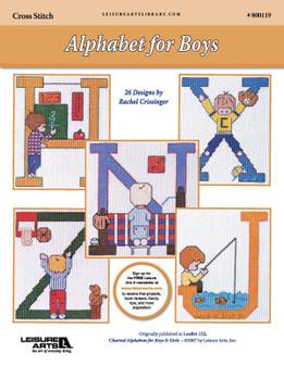 ePattern Alphabet for Boys